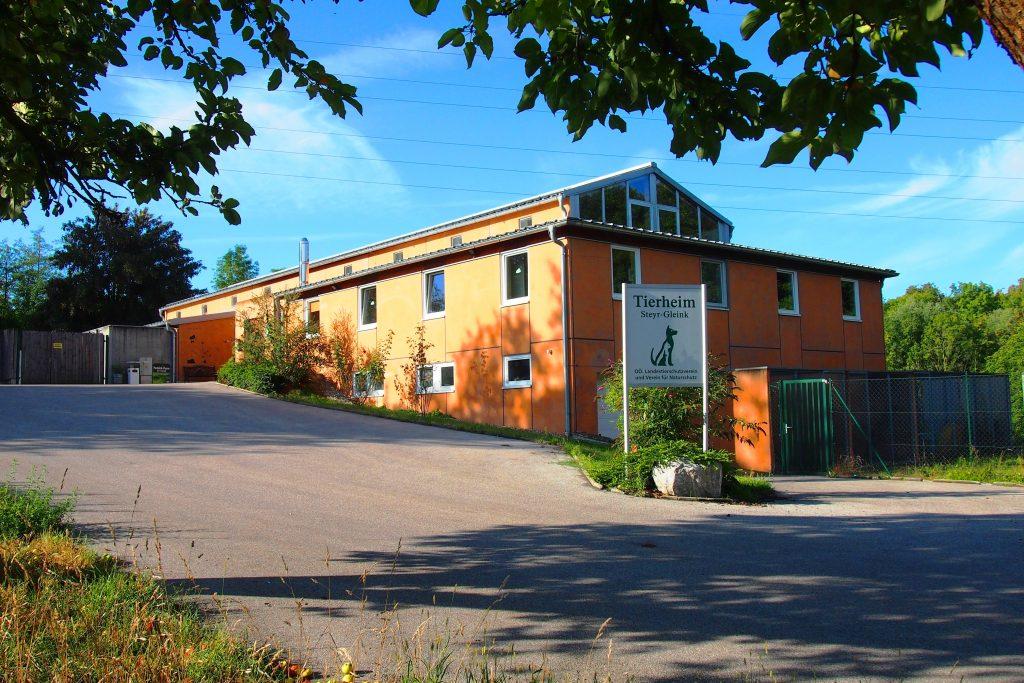 Tierheim Neubau Steyr Gleink