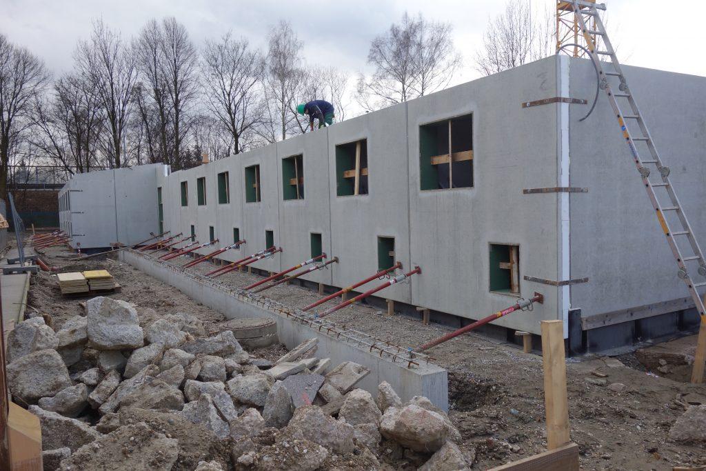 Neubau Hundehaus Tierheim Linz