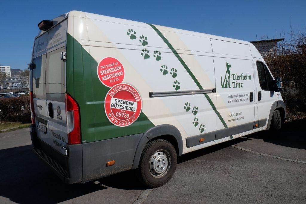 Ein neues Tierheimauto als Stolz des Vereines