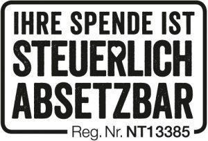 Ihre Spende ist steuerlich absetzbar